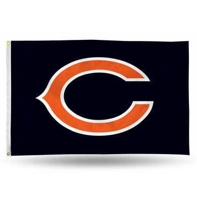 Chicago Bears Banner Flag - 3'x5'