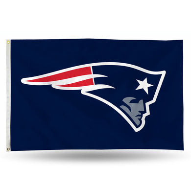 New England Patriots Banner Flag - 3'x5'