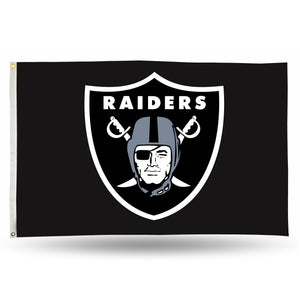 Oakland Raiders Banner Flag - 3'x5'