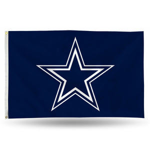 Dallas Cowboys Banner Flag - 3'x5'