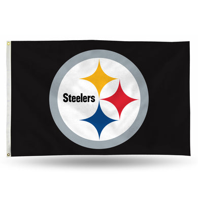 Pittsburgh Steelers Banner Flag - 3'x5'