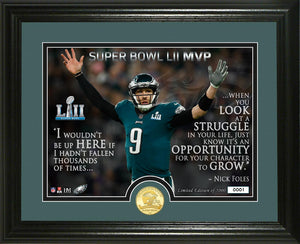 nick foles, philadelphia eagles, super bowl 52 champions