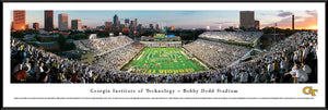 Georgia Tech Yellow Jackets Bobby Dodd Stadium Panoramic Picture