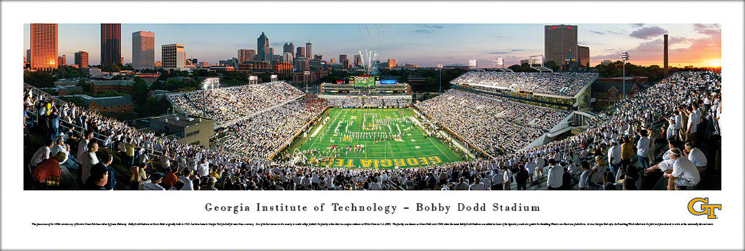 Georgia Tech Yellow Jackets Bobby Dodd Stadium at Grant Field Panoramic Picture