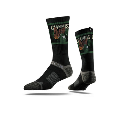Milwaukee Bucks Giannis Antetokounmpo socks