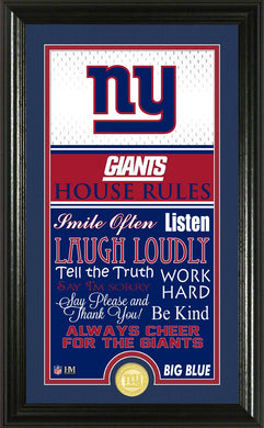 New York Giants House Rules