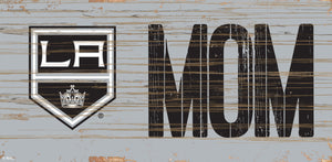 "Los Angeles Kings MOM Wood Sign - 6""x12"""