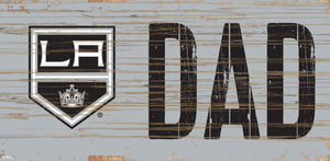 "Los Angeles Kings DAD Wood Sign - 6""x12"""
