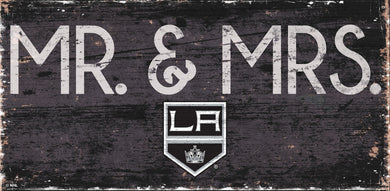 Los Angeles Kings Mr. & Mrs. Wood Sign - 6