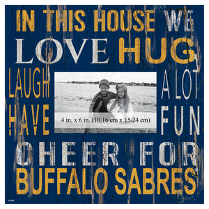 Buffalo Sabres In This House Picture Frame