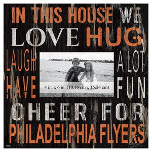Philadelphia Flyers In This House Picture Frame