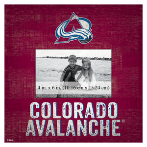 Colorado Avalanche Picture Frame