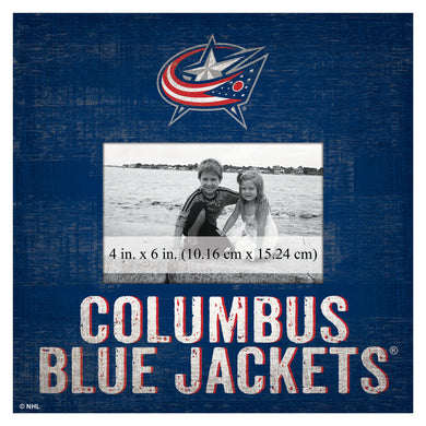 Columbus Blue Jackets Picture Frame