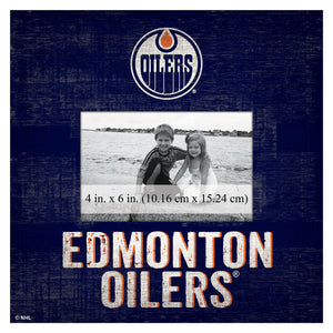 Edmonton Oilers Picture Frame