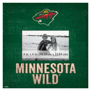 Minnesota Wild Picture Frame