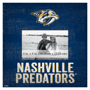 Nashville Predators Picture Frame