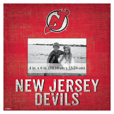 New Jersey Devils Picture Frame