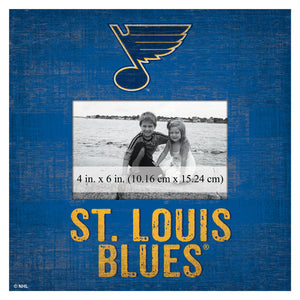 St. Louis Blues Picture Frame