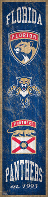 Florida Panthers Heritage Banner Wood Sign - 6