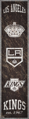 Los Angeles Kings Heritage Banner Wood Sign - 6