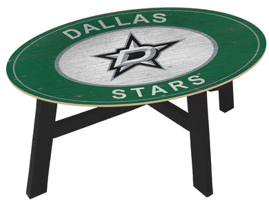 Dallas Stars Heritage Logo Wood Coffee Table