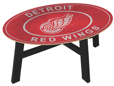 Detroit Red Wings Heritage Logo Wood Coffee Table
