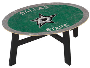Dallas Stars Heritage Team Color Wood Coffee Table
