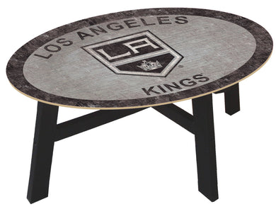 Los Angeles Kings Team Color Wood Coffee Table