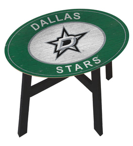 Dallas Stars Heritage Logo Wood Side Table