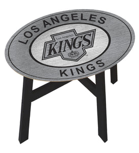 Los Angeles Kings Heritage Logo Wood Side Table