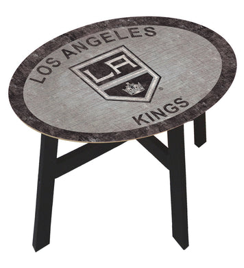 Los Angeles Kings Team Color Wood Side Table