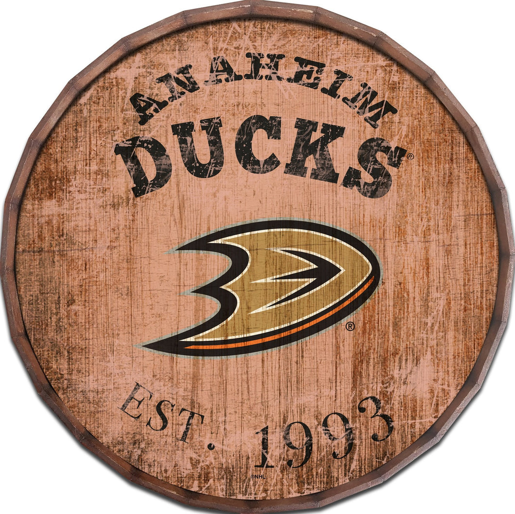 Anaheim Ducks Established Date Barrel Top -24