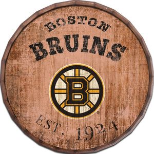 Boston Bruins Established Date Barrel Top -24""