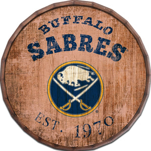 Buffalo Sabres Established Date Barrel Top -24""