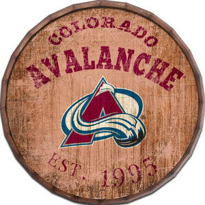 Colorado Avalanche  Established Date Barrel Top -24""