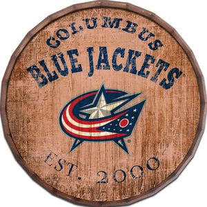 Columbus Blue Jackets Established Date Barrel Top
