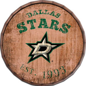 Dallas Stars Established Date Barrel Top -24""