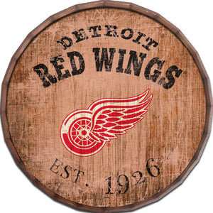 Detroit Red Wings Established Date Barrel Top