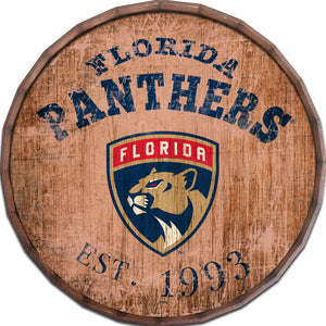 Florida Panthers Established Date Barrel Top -24""