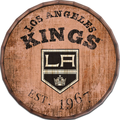 Los Angeles Kings Established Date Barrel Top