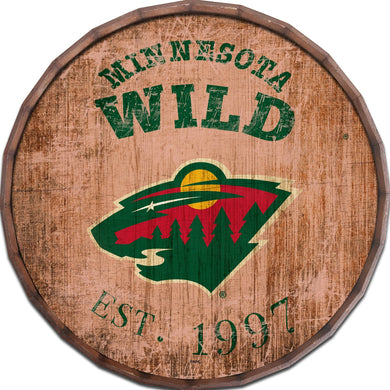 Minnesota Wild Established Date Barrel Top -24