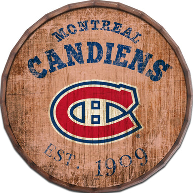Montreal Canadiens Established Date Barrel Top -24