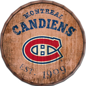 Montreal Canadiens Established Date Barrel Top -24""
