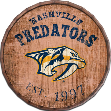 Nashville Predators Established Date Barrel Top