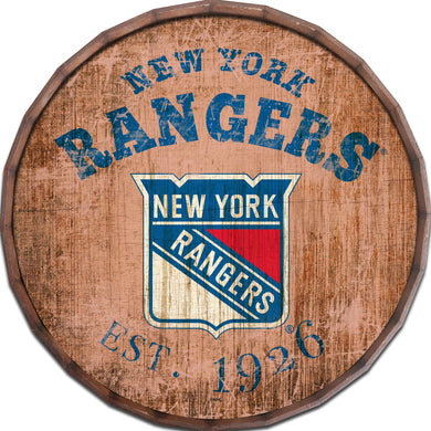 New York Rangers Established Date Barrel Top