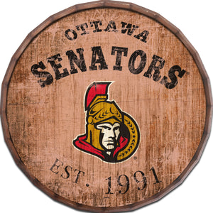 Ottawa Senators Established Date Barrel Top