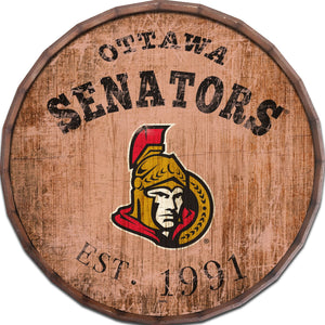 Ottawa Senators Established Date Barrel Top -24""
