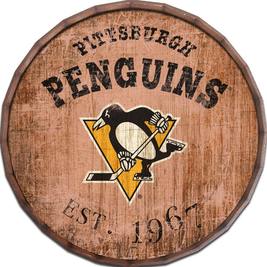 Pittsburgh Penguins Established Date Barrel Top