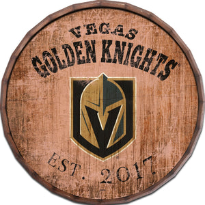 Vegas Golden Knights Established Date Barrel Top -24""
