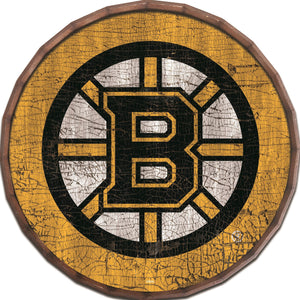 Boston Bruins Cracked Color Barrel Top -24""
